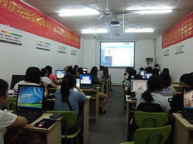 兴义恒企会计培训学校-多媒体教室